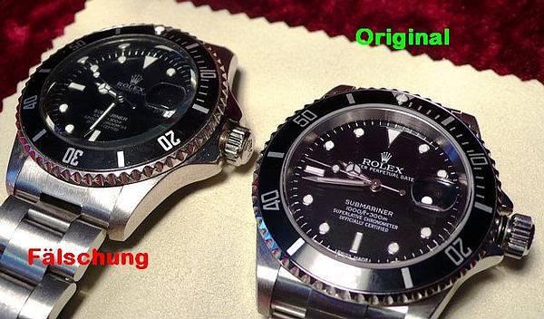 Kontrola Geprüfte Qualität Garantiert Rolex Submariner 16610
